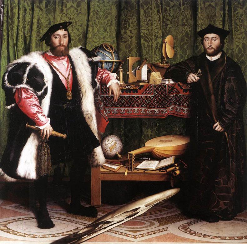 1533, Hans Holbein dJ - Die Gesandten