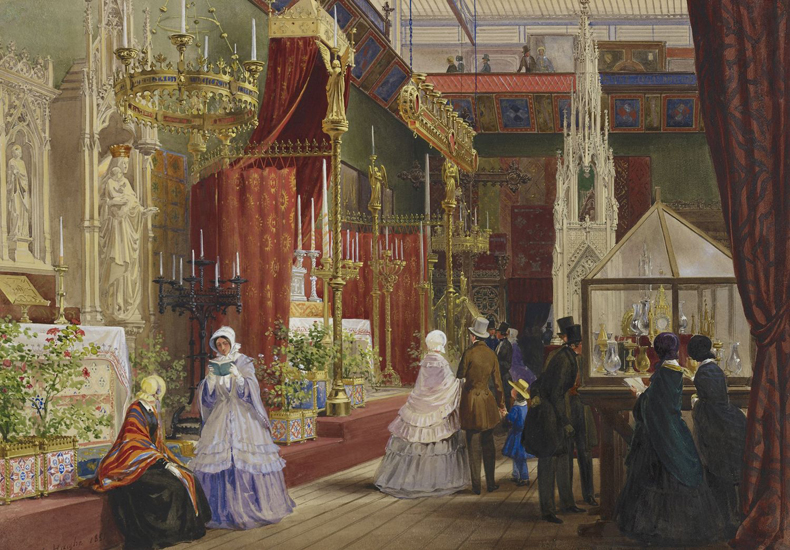 1851, Louis Haghe - The Great Exhibition