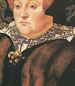 1555-58 Hans Eworth Portrait of Lady Dacre