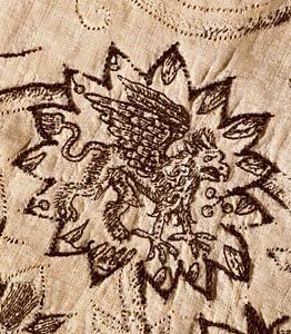 1615-20 Jacke mit Schwarzstickerei, Victoria & Albert Museum