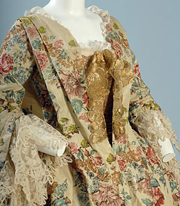 1735, Robe à la francaise, Fashion Institute of Technology, New York