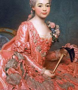 1756, Alexander Roslin - Baronesse Neubourg-Cromiere