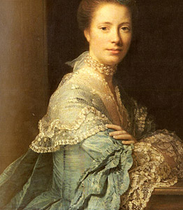 ca 1760, Allan Ramsay - Jean Abercromby