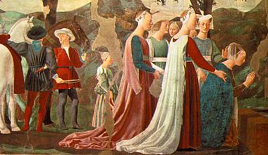 Damenkleidung der italienischen Renaissance