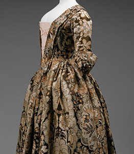 1725ca, Robe à l'Anglaise, Metropolitan Museum