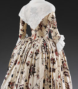 1760-70, Robe à l'Anglaise, Victoria & Albert Museum