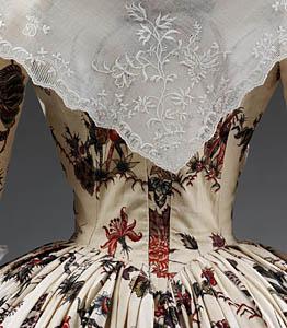 1760-70, Robe à l'Anglaise, Victoria & Albert Museum