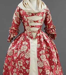 1760, Robe à l'Anglaise, Victoria & Albert Museum