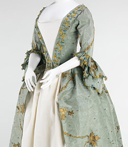 1770-75, Robe à l'Anglaise, Metropolitan Museum