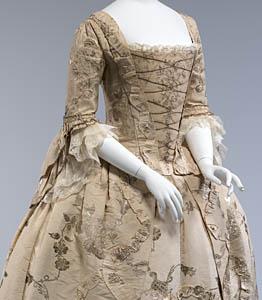 1770, Robe à l'Anglaise, Metropolitan Museum