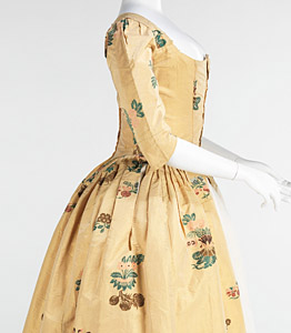 1776, Robe à l'Anglaise, Metropolitan Museum