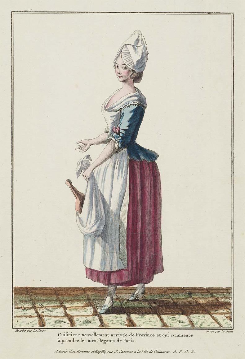 1778, Gallerie des Modes et Costumes Francais