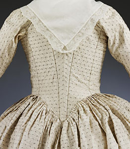1779, Robe à l'Anglaise, Victoria & Albert Museum