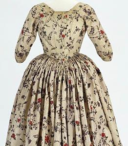 1780, Robe à l'Anglaise, Metropolitan Museum