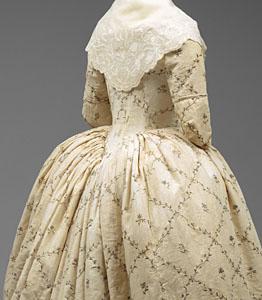 1784-87, Robe à l'Anglaise, Metropolitan Museum