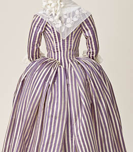 1785-90, Robe à l'Anglaise, LACMA