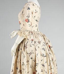1785-95, Robe à l'Anglaise, Metropolitan Museum