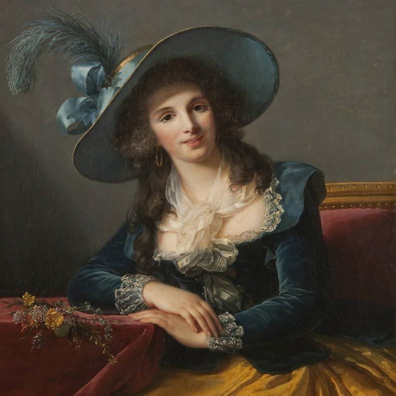 1785, Louise Elisabeth Vigee-Lebrun - Comtesse Louis-Philippe de Segur