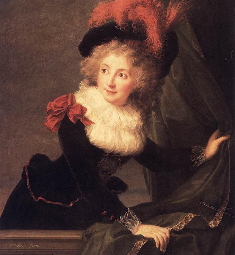 1789, Elisabeth Vigee-Lebrun - Madame Perregaux
