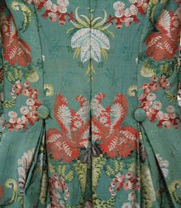 1774-93, Robe a la polonaise, Metropolitan Museum