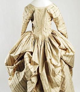 1775, Robe a la polonaise, Metropolitan Museum