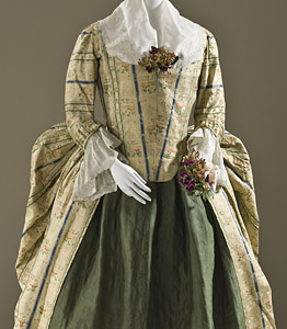 1775, Robe a la polonaise, LACMA