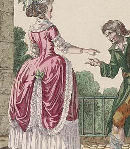 1780 Robe à la polonaise, Gallerie des Modes